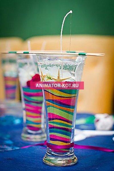 Мастер класс Гелевые свечи (День рОждения) Екатеринбург