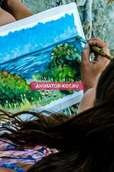 Мастер класс Рисование (День рОждения) Екатеринбург